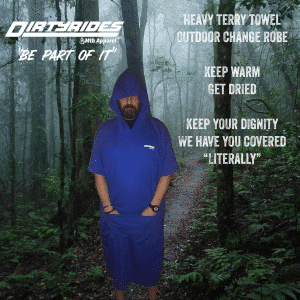 DirtyRides MTB Changing Robe